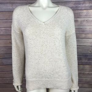 J.Crew Flared Sleeve Swing Vtg Champagne Sweater